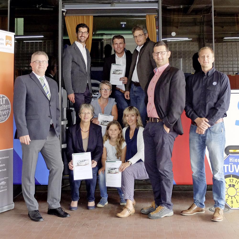 Busunternehmer sagen JA zum Schulbus-Check 2016