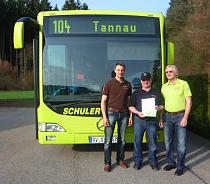 Eugen Hecht – 30 Jahre beim Familienunternehmen Omnibus Schuler tätig